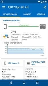 Aplikacja FRITZ!App WLAN na Android