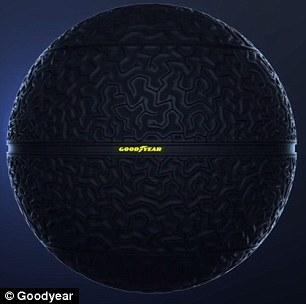 Twórcy nowych opon wzorowali się kształtem i wzorem mózgu człowieka.