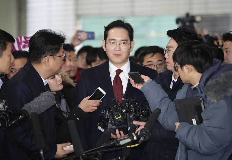 Lee Jae-yong, the vice chairman of Samsung. Credit Pool photo by Chun Sung-Jun